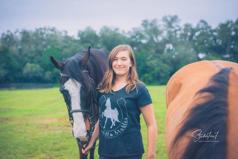 Horse Training at Licciardello Stables in Lutz, Florida
