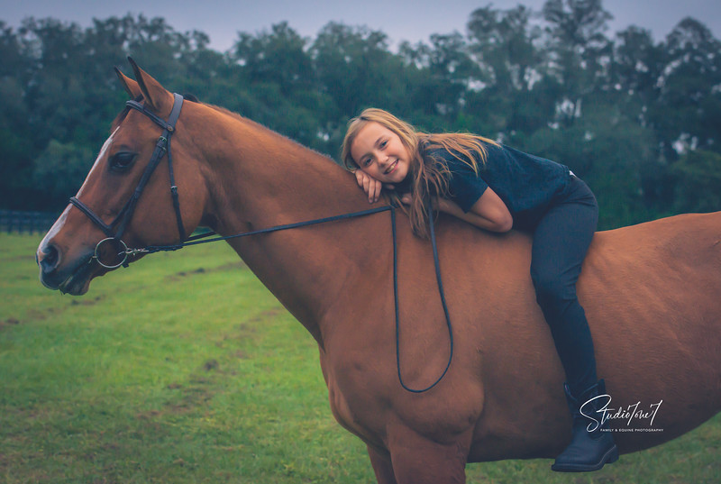 Horse Riding Lessons at Licciardello Stables in Lutz, Florida