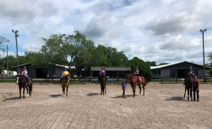 Horse Summer Camps at Licciardello Stables
